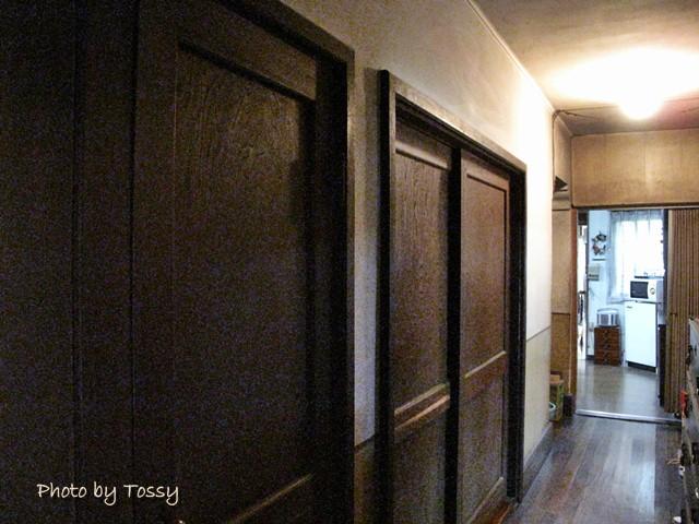 寺村家階下廊下