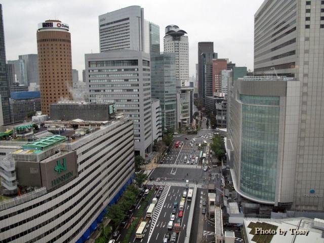 大阪駅前俯瞰1