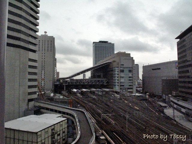 HEPから見た大阪駅