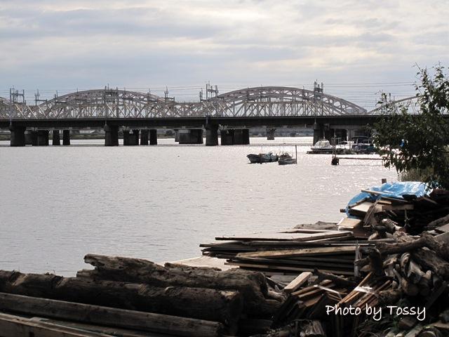十三淀川河畔
