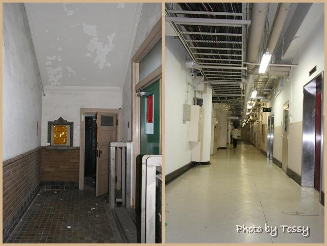 生絲検査所廊下