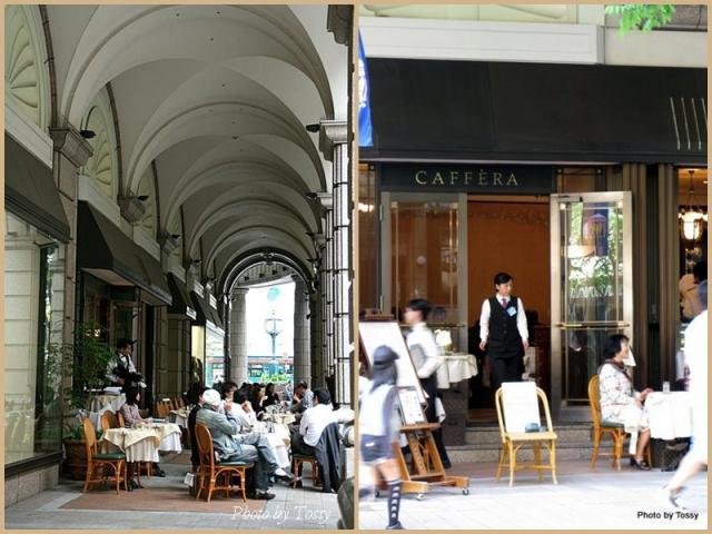 大丸のカフェ