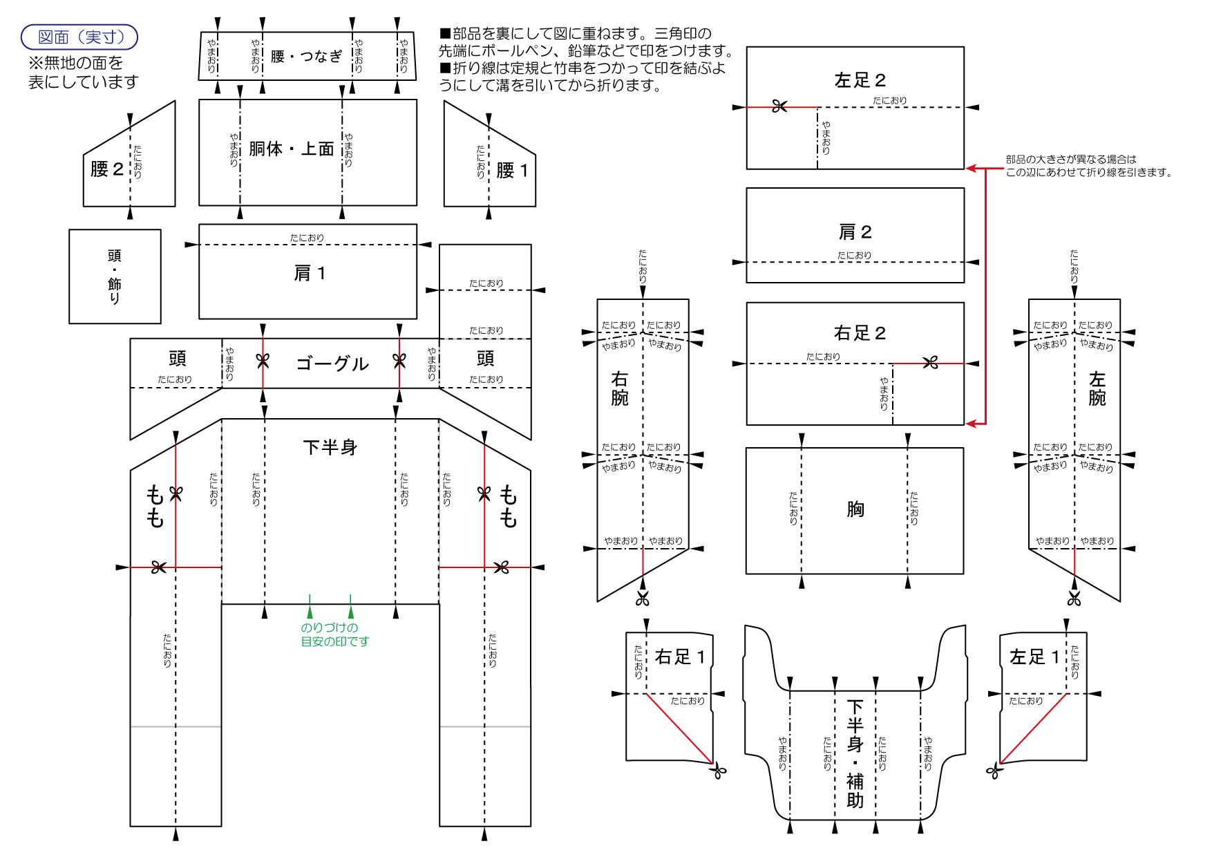 「たばこロボット」作り方 - パッケージクラフトブログ~空の ...