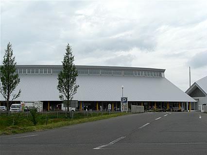 道の駅おおがた 「産直センター潟の店」 外観