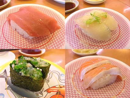 かっぱ寿司 食べたもの-2