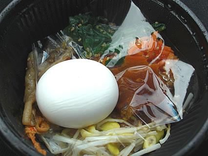 ローソン ろーそん亭 シャキシャキ野菜のビビンパ 中身-1
