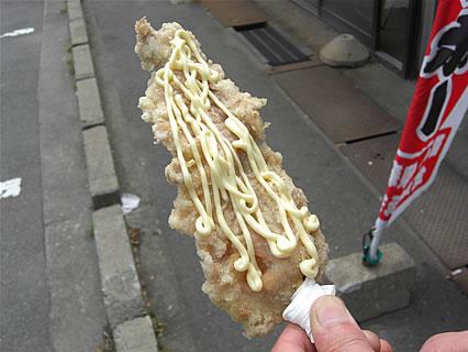 たこやき西海 チキンボー(200円)