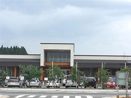 七戸町産地直売施設「七彩館」 外観