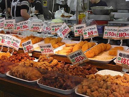 八食センター うえたいら肉店 惣菜