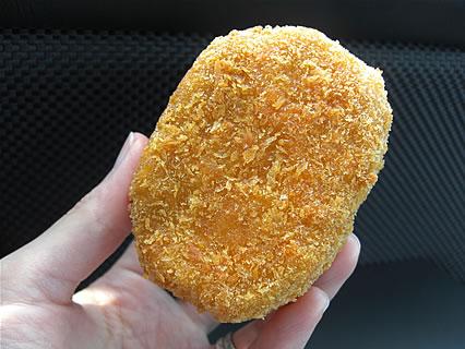 川村精肉店 手作りコロッケ(90円)
