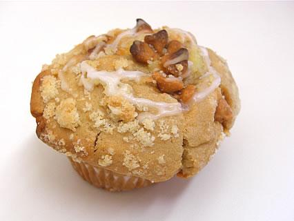 Daily's muffin(デイリーズ マフィン) ピーナッツバター&バタースカッチチョコ(290円)