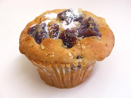 Daily's muffin(デイリーズ マフィン) むらさき芋煮とメイプルシュガー(290円)