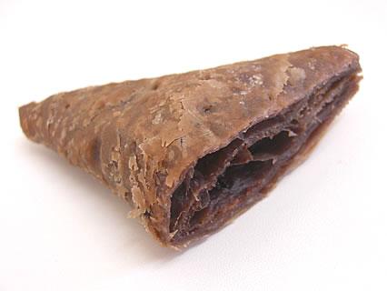マクドナルド 三角チョコパイ 断面