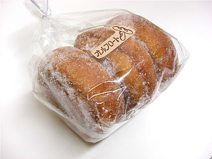 オルブロート東バイパス店 ソフトドーナツ(3コ入210円)