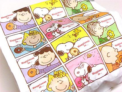 ミスタードーナツ スヌーピーの紙袋