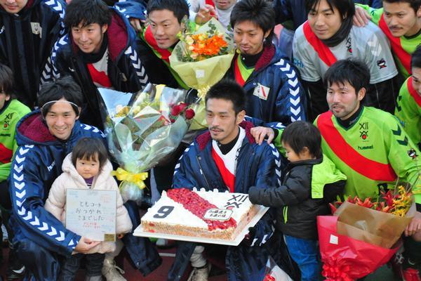 加藤引退試合