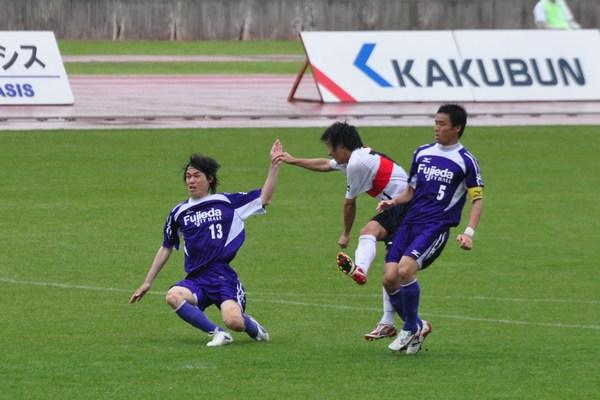 2011東海リーグ第3節vs藤枝市役所2