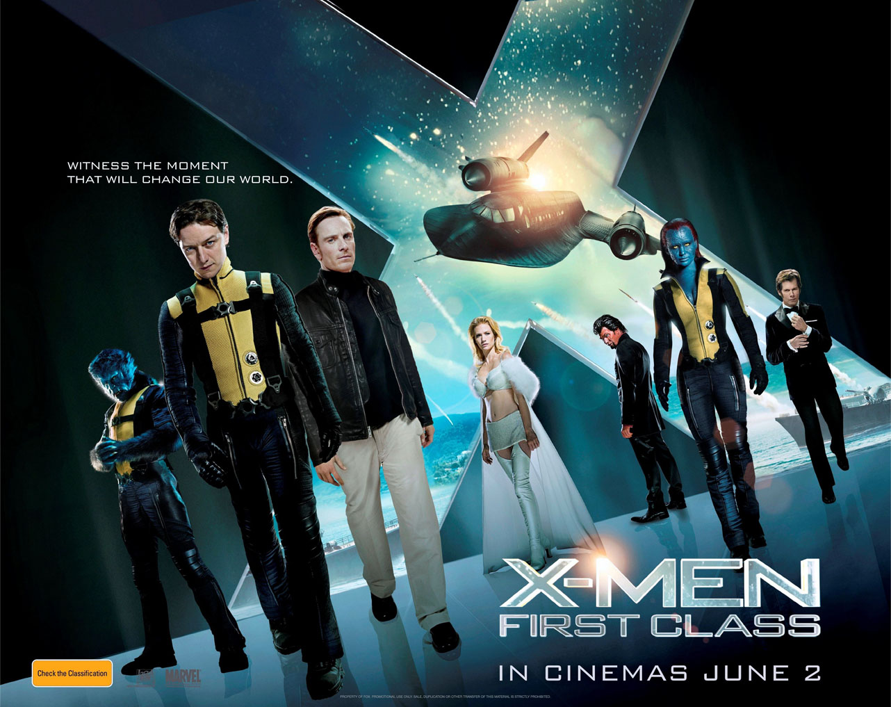 X Men First Class 2 Poster かろうじて...
