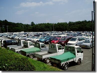 車がいっぱいっす