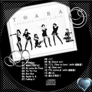 T-ara (ティアラ) 1集 Absolute First Album