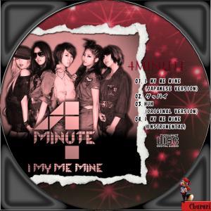 4Minute I My Me Mineレーベル1
