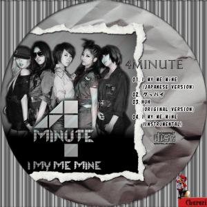 4Minute I My Me Mine