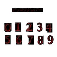 赤と黒ディスクナンバー