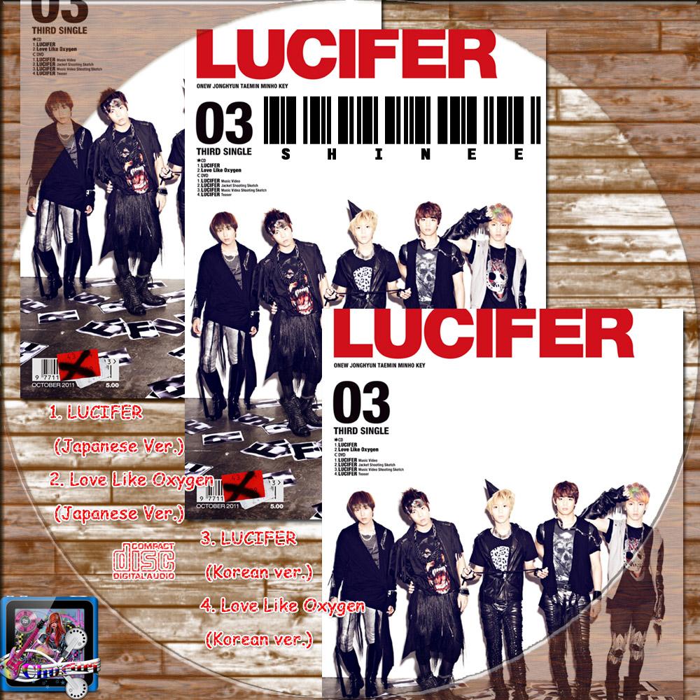 カッチカジャ☆韓国Drama・OST♪Label☆ SHINee LUCIFER(Japanese Ver.)☆レーベル