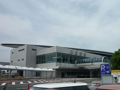 広島空港(駐車場から)