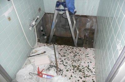 浴槽回収後