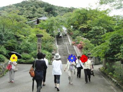 この階段を