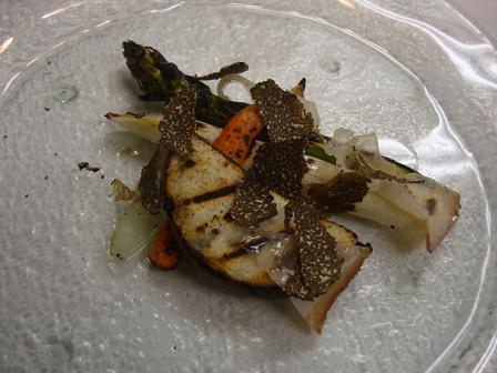 野菜のグリル トリュフ風味