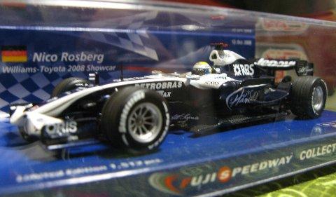 ウィリアムズ 2008 ニコ ミニカー