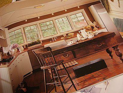 広いキッチン.