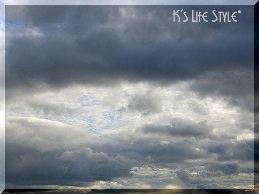 曇ってきた・・・