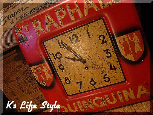 Vintage AD Clock, St.Raphael Quinquina.jpg