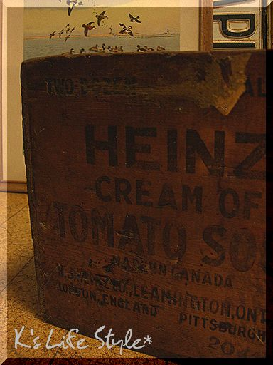 HEINZ 木箱