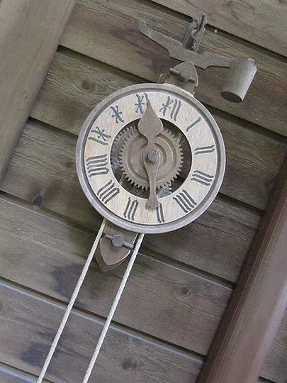 素的な時計