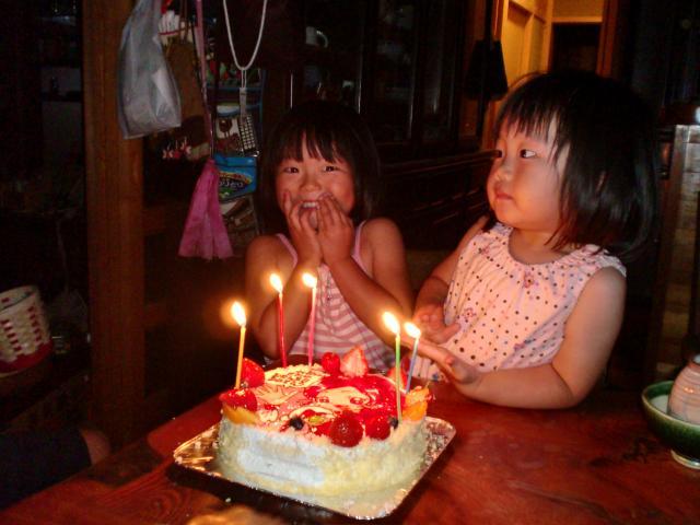 玲央5歳の誕生日