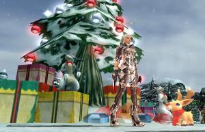 前年のクリスマスツリー