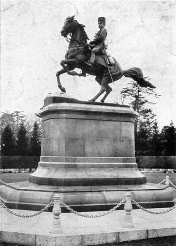 北白川宮銅像