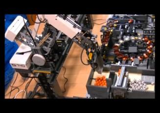 【レゴ】工場をつくってみた【機械式】