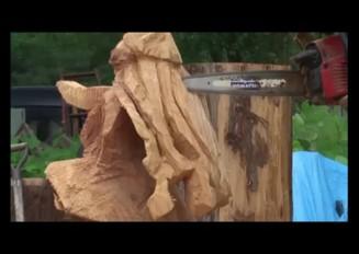 「ジェイソンさん」イカ娘を彫らなイカ?「イカ娘」