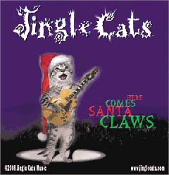 here comes santa claws