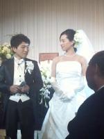 かなざわ先生 結婚式1
