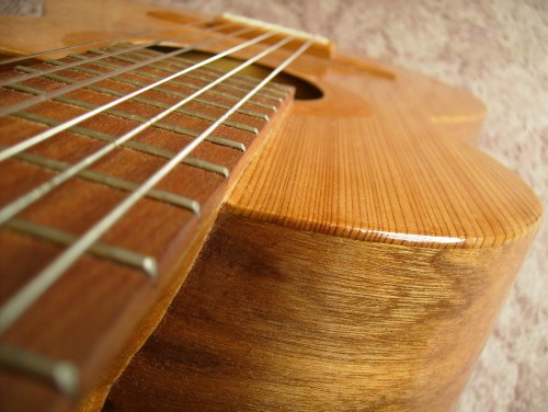 菊ギター第10号 接着面1