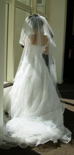 娘ウェディングドレス