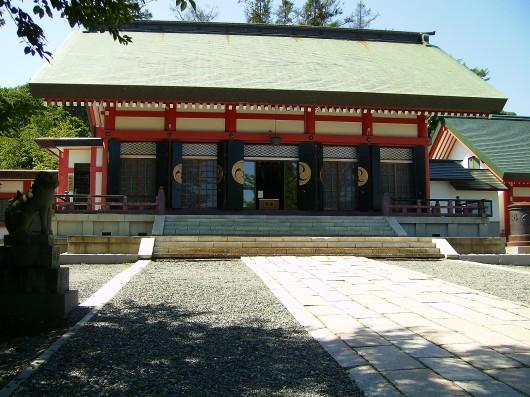 小樽住吉神社拝殿正面