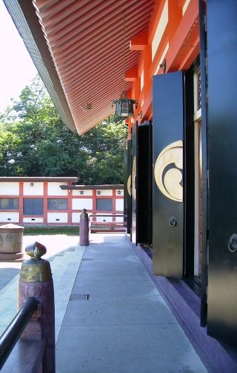 小樽住吉神社拝殿イメージ