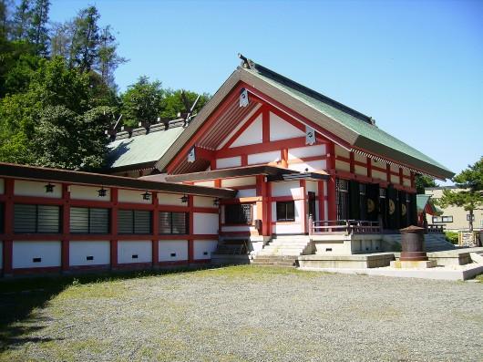 小樽住吉神社全景斜